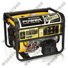 Gasoline Generator with 5.0kW Rated Output, Standard Configuration of Voltmeter