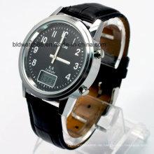 Kundenspezifische Uhren für Männer mit funkgesteuerter Bewegung