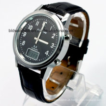 Relógios personalizados para homens com movimento controlado por rádio