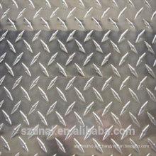 Plaque de diamant 3003H14 Aluminium Checker pour revêtement de sol
