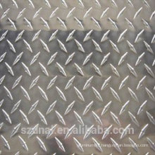 3003H14 Aluminium Chequer Diamond Plate for flooring