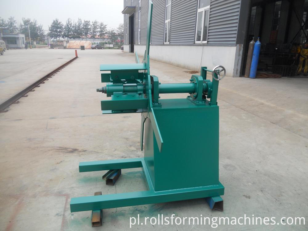 decoiler for Roll Metal Shutter Roll Forming Machine