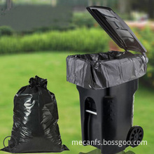 Waterproof eco-friendly reusable biodegradable garbage bag