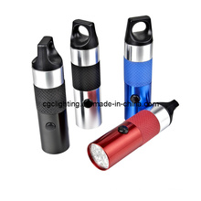 Aluminum Dry Battery LED Flashlight