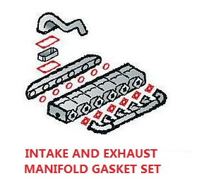 INTAKE AND EXHAUST MANIFOLD GASKET SET