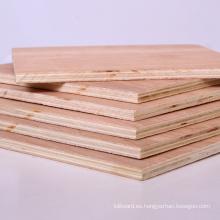 Madera contrachapada de la madera dura de la madera contrachapada comercial de 6m m 9m m 12m m 15m m 18m m