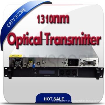Directly Modulated 1310 transmissor / CATV fibra ótica Jdus modulador transmissor