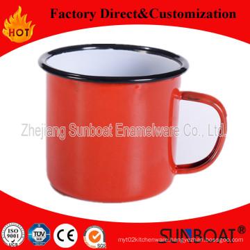 Sunboat Enamel Cup /Mugtableware Kitchenware/ Kitchen Appliance