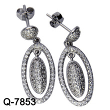 2015 Neueste Styles Ohrringe 925 Silber (Q-7853 JPG)