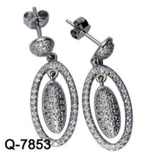 2015 Последние стили Серьги 925 Серебро (Q-7853. JPG.)