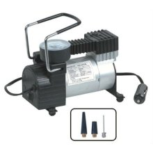 Mini 12V 150PSI tire inflator/air compressor with gauge