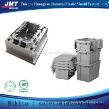 plastic injection transport folding storage box mold