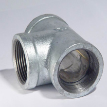 NPT Threaded 304 Kelas 150 Stainless Steel Casting Tee