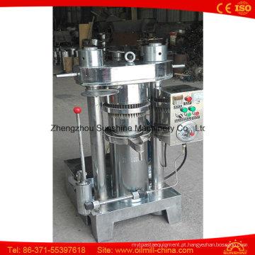 6yz-180 Oil Expeller Máquina de extração de óleo de oliva hidráulica Pressão de óleo