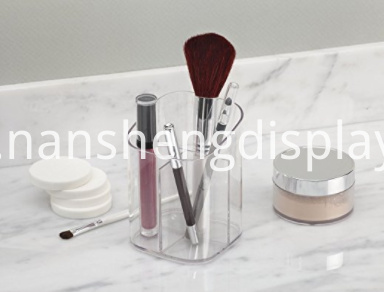 Acrylic Cosmetic Makeup Brushes Organizer