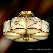 Bedroom Decorative Brass Pendant Lighting