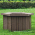 Hochquanlity Holz Kunststoff Composite / WPC Blume Box704 * 610 * 425