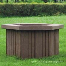 High Quanlity madera de plástico compuesto / WPC Flower Box704 * 610 * 425