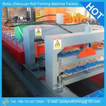 Máquina del panel del techo del metal, máquina de la azotea del metal de la costura derecha, máquinas de techado del metal para la venta