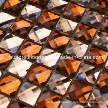 Carrelage en mosaïque en miroir en verre diamant (HD040)