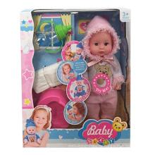 16 Zoll schöne Vinyl Lebensechte Reborn Spielzeug Puppe (10252795)