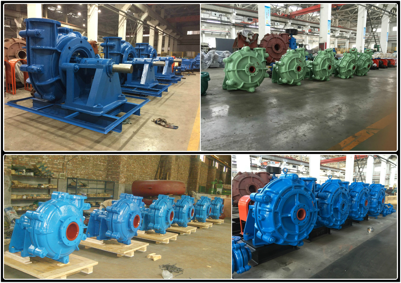Slurry Pumps Factory