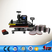 CE Approved 8 in 1 Multifunctional Heat Press Machine