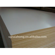 White Melamine waterproof mdf board