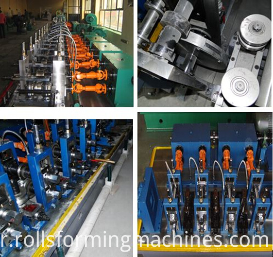 welded pipe machine details