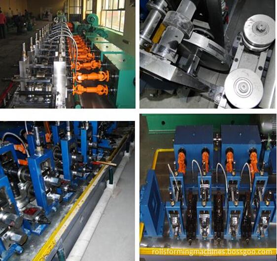 welded pipe machine details