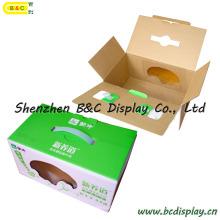 Caixa De Embalagem De Leite, Cor De Papelão Ondulado, Caixa De Embalagem, Caixa De Papel (B & C-I018)