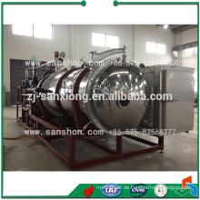 China Industrial Freeze Trockner Gefriergetrocknete Moringa Blatt Pulver Lyophilisierung Maschine