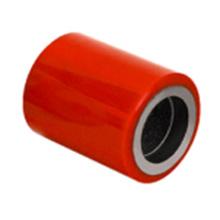 Roda única de empilhadeira PU (vermelho) (3011)