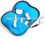 Mouse Travel Cable Kits Bag Computer Cable Packaging Bag Custom Printed Cable Storage Bag