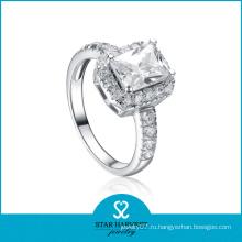 Мода 925 Серебряное обручальное кольцо (SH-R0105)