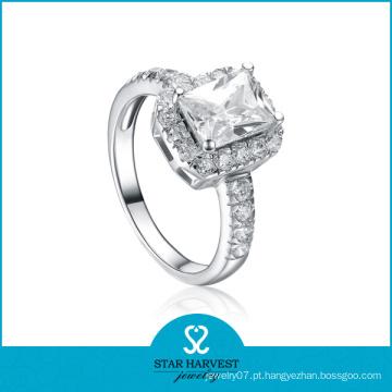 Anel de casamento de prata da forma 925 (SH-R0105)