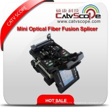 Mini empalmador de fibra óptica de alto rendimiento Catvscope Csp-17s