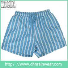 Tecido de poliéster moda masculina de impressão de design de lazer calças curtas