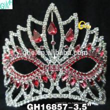 Belleza congelada corona de concurso