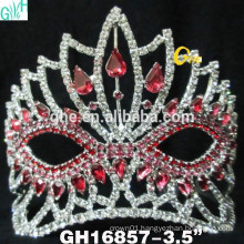 Beauty frozen pageant crown
