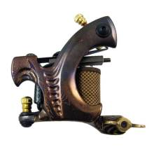 High Quality Damascus Steel Tattoo Machine Shader and Liner