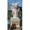 Escultura de mármol de la piedra que talla la estatua para la decoración del jardín (SY-X1325)