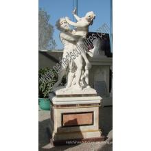 Stein Marmor Skulptur Carving Statue für Garten Dekoration (SY-X1325)