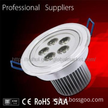Motion Sensor led down light CE RoHS cob rectangular led downlight