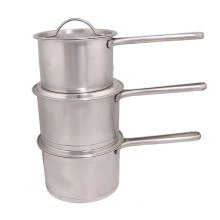 2014 Best Selling 3PCS Set Stainless Steel Pot