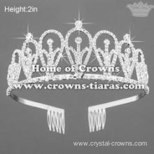 Hot Selling Crystal Rhinestone Princess Crowns