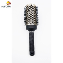Professional Styling Brush for Healthy Shiny Frizz-Free Hair Straight or Curl Best Blow Dry Round Hair brush with Boar Bristles