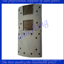 47441-1180a forro de freno de hino trasero semi-metal de alta calidad