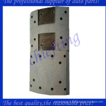 47441-1180a Doublure de frein arrière en métal hino de haute qualité