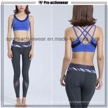 Soem-Service-Frauen-Sport-Abnutzungs-Trainings-Kleidungs-Großverkauf-kundenspezifischer Damen-Sport-Büstenhalter